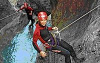 Canyoning in Oetztal